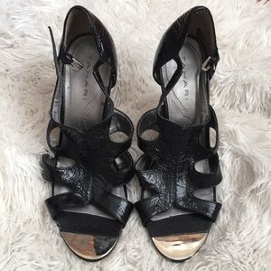 Tahari Heels with mirror tip